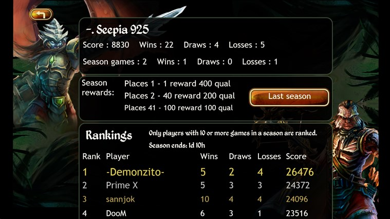 Permia - Duels screen shot 4