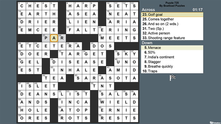 Crossword Fun screen shot 0