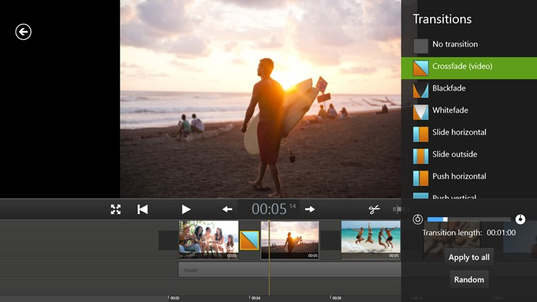 Movie Edit Touch (for Movie Edit Pro Customers) screen shot 4