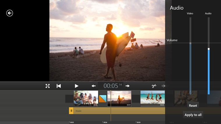 Movie Edit Touch (for Movie Edit Pro Customers) screen shot 6
