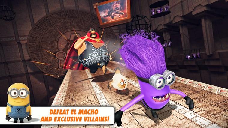 Despicable Me: Minion Rush-skärmbild 4