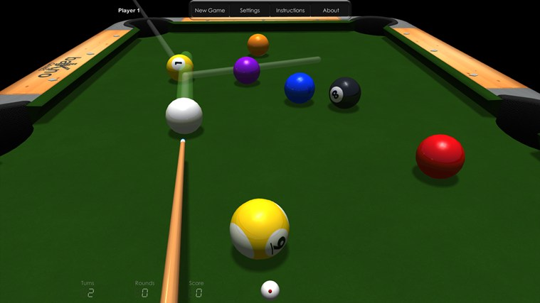 Billiards HD screen shot 0