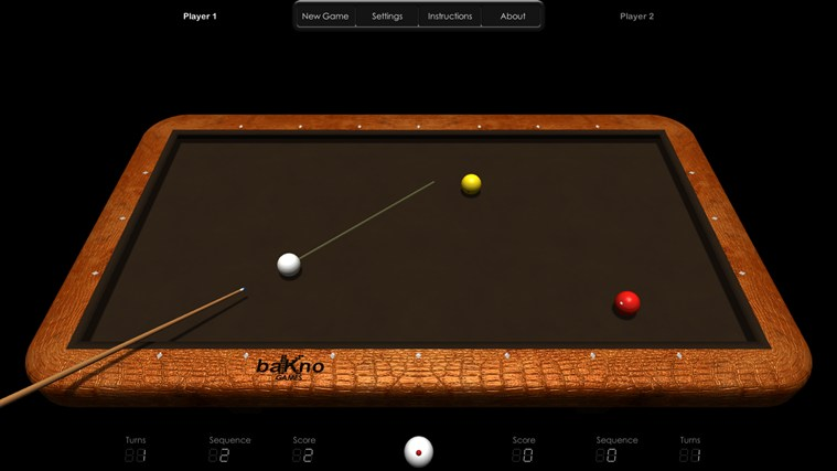 Billiards HD screen shot 2