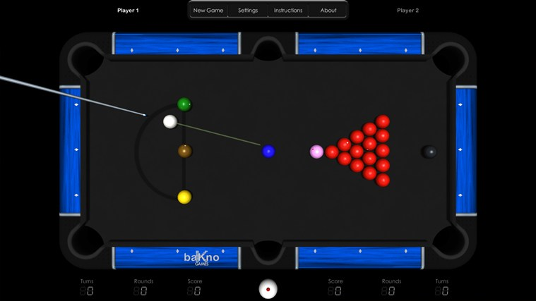 Billiards HD screen shot 4