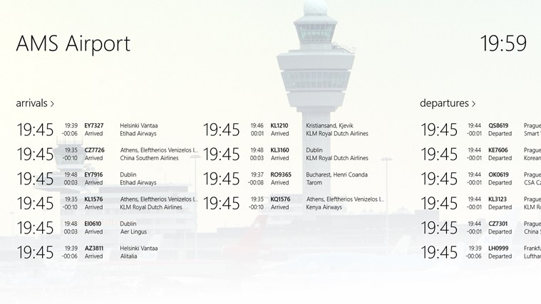 AMS Airport screen shot 0