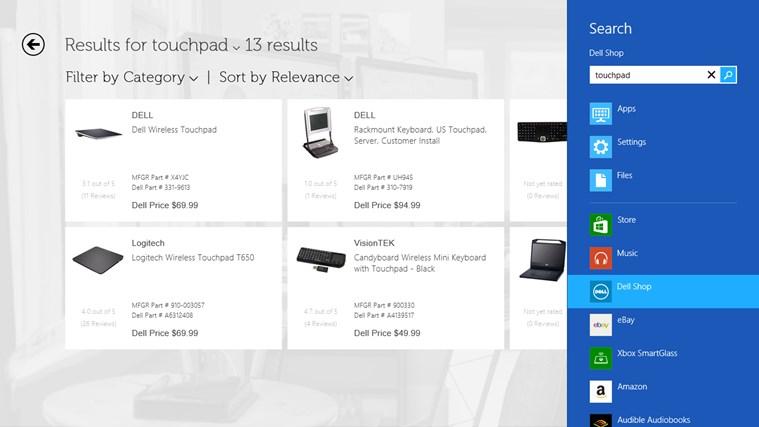 Dell Shop screen shot 4