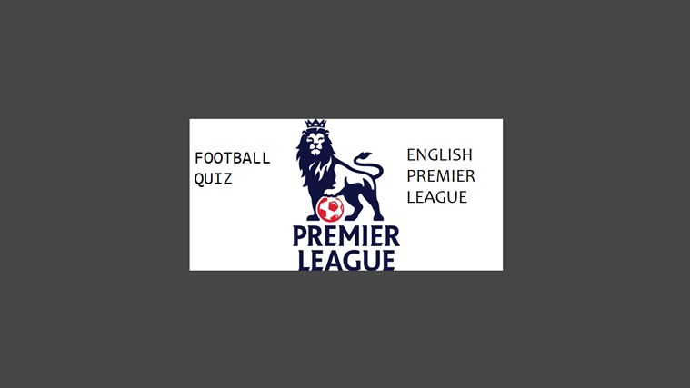 Football Quiz - English Premier League screen shot 0