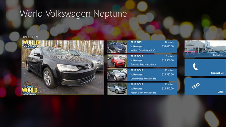 World Volkswagen Neptune DealerApp captură de ecran 0