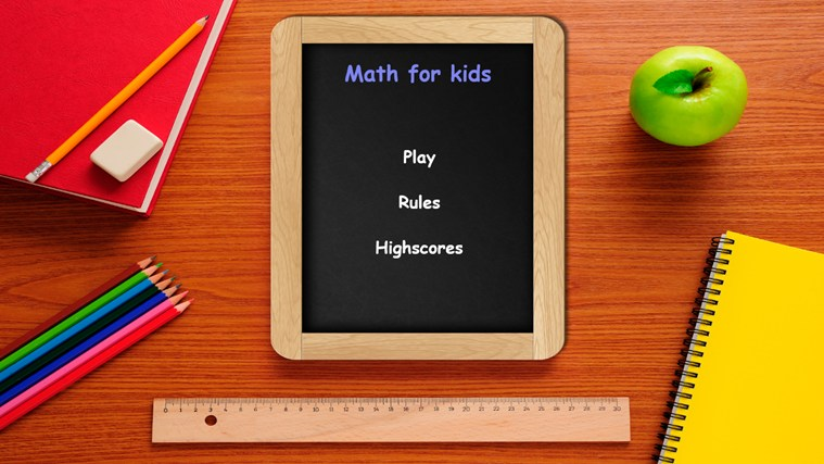 Math for kids! screen shot 0