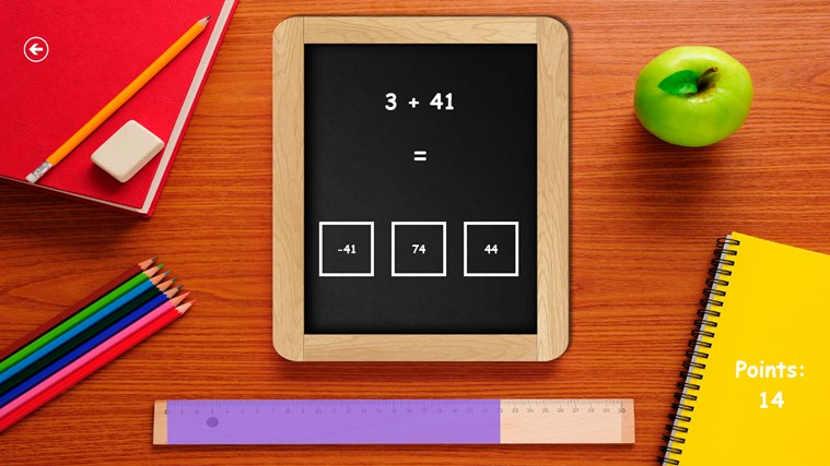 Math for kids! screen shot 2