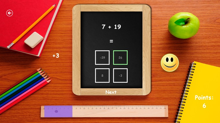 Math for kids! screen shot 4