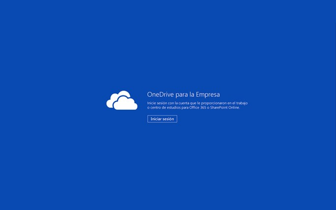 OneDrive para la Empresa captura de pantalla 2