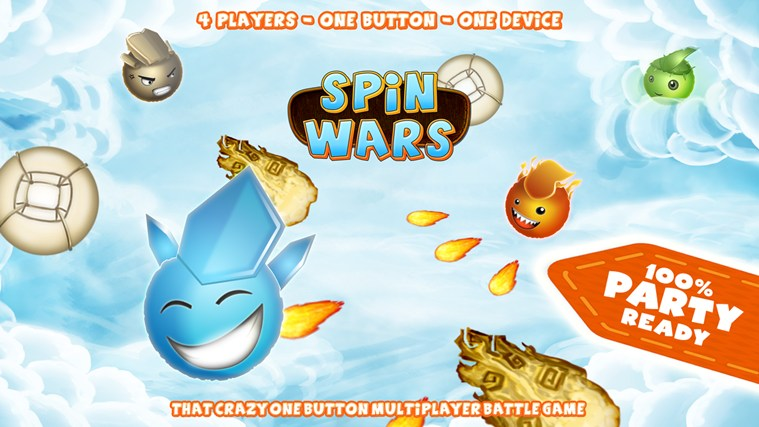 SPiN WARS screen shot 2