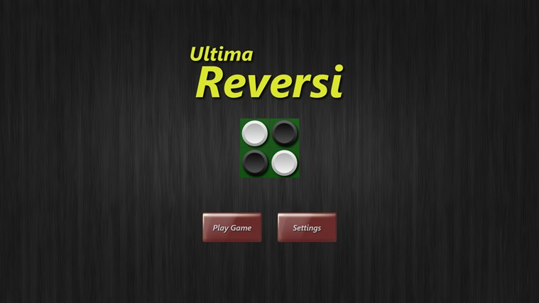 Ultima Reversi Windows 8 Game