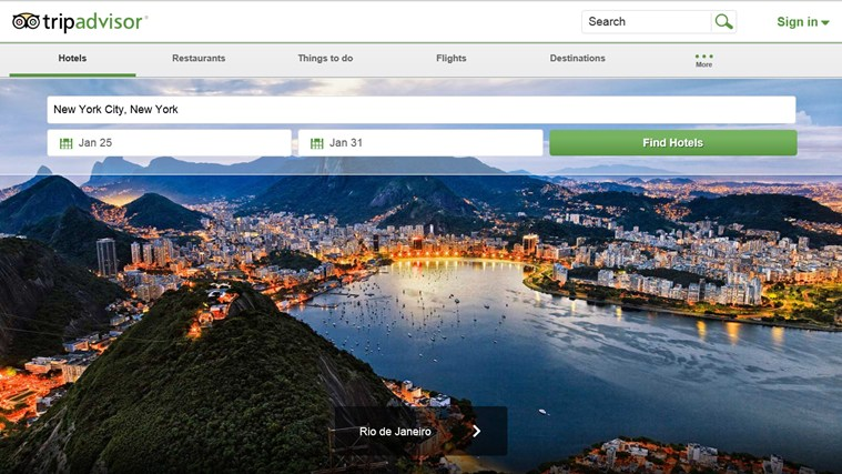 TripAdvisor Hotels Flights Restaurants screen shot 0