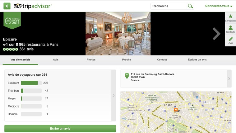 TripAdvisor Hotels Flights Restaurants capture d'écran 4