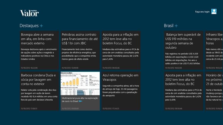Valor Econômico captura de tela 2