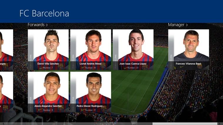 FC Barcelona screenshot 0