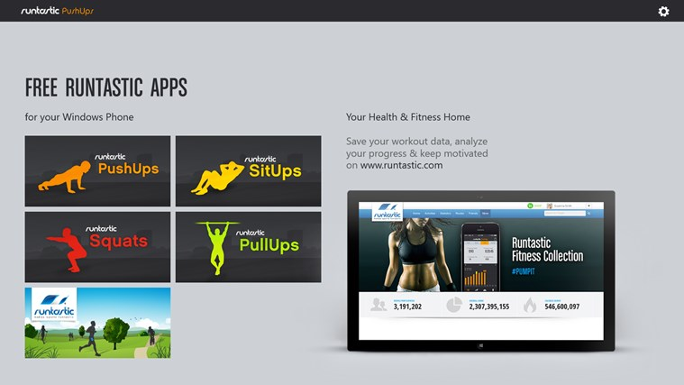 Runtastic PushUps PRO screen shot 6