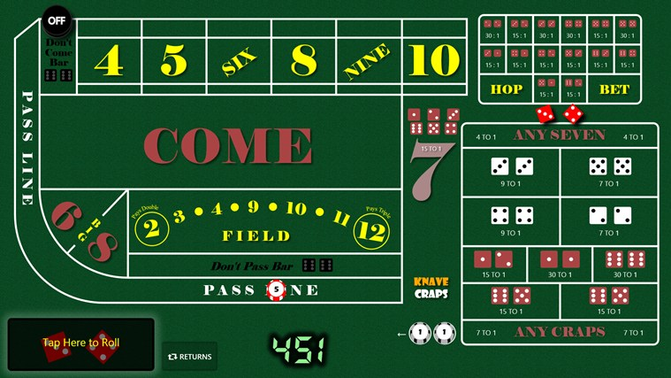 learn how to play craps and win