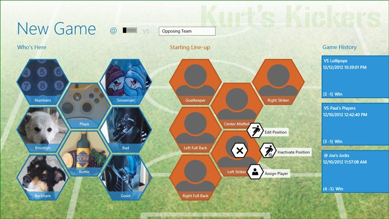 Game Manager - Soccer screen shot 0