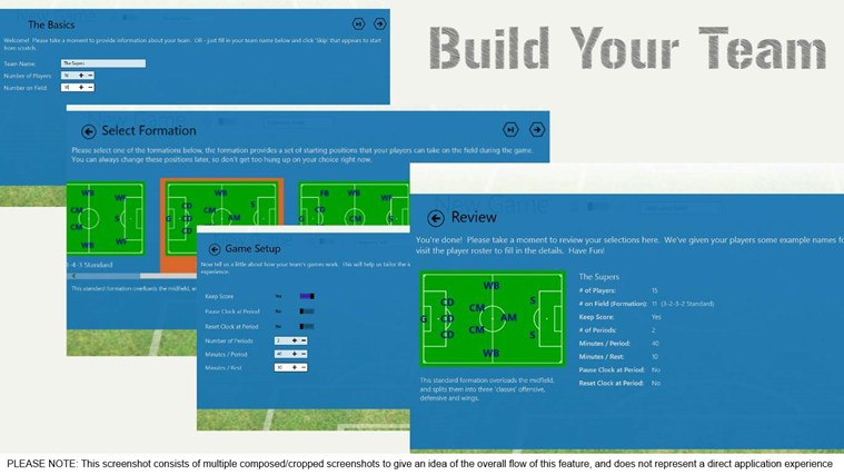 Game Manager - Soccer screen shot 2
