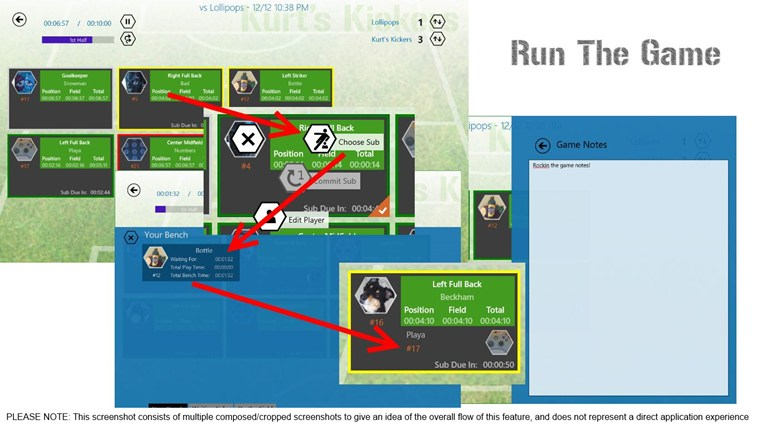 Game Manager - Soccer screen shot 4