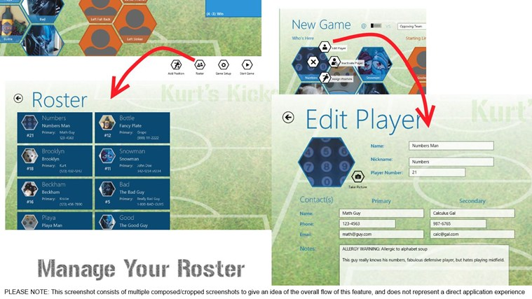 Game Manager - Soccer screen shot 6
