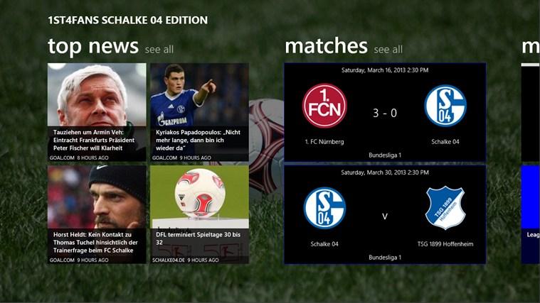 1st4Fans Schalke 04 edition captura de ecrã 0