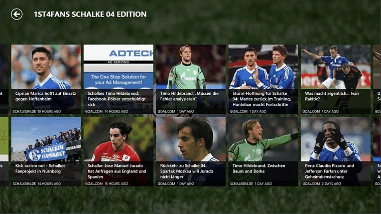 1st4Fans Schalke 04 edition captura de ecrã 2