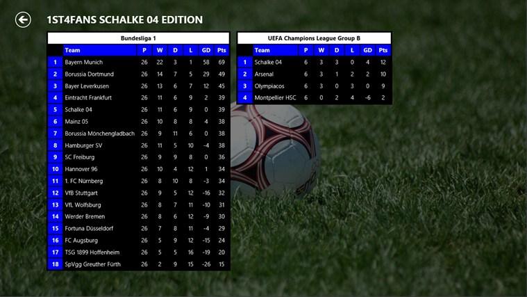 1st4Fans Schalke 04 edition captura de ecrã 4