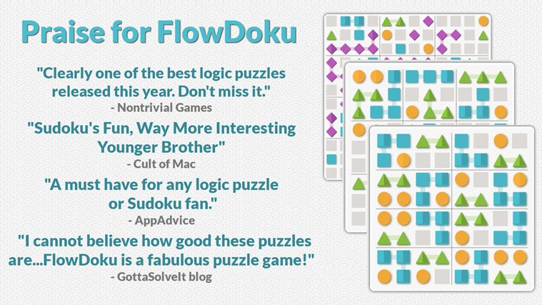 FlowDoku screen shot 0