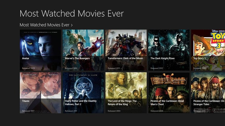 most watched movies ever for windows 10 free download on
