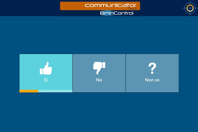 BrainControl - Basic Communicator Touch screen shot 2