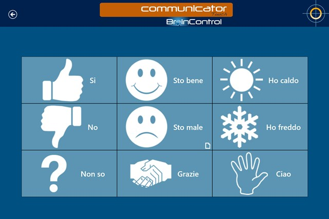 BrainControl - Basic Communicator Touch screen shot 4