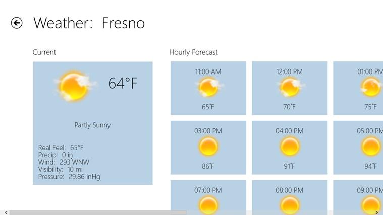 Fresno Bee screen shot 4