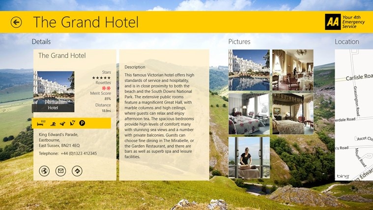 AA Hotel Guide screen shot 0