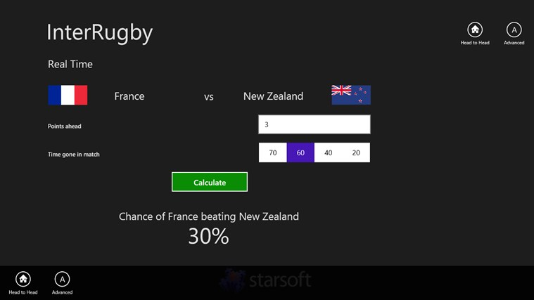 InterRugby screen shot 2