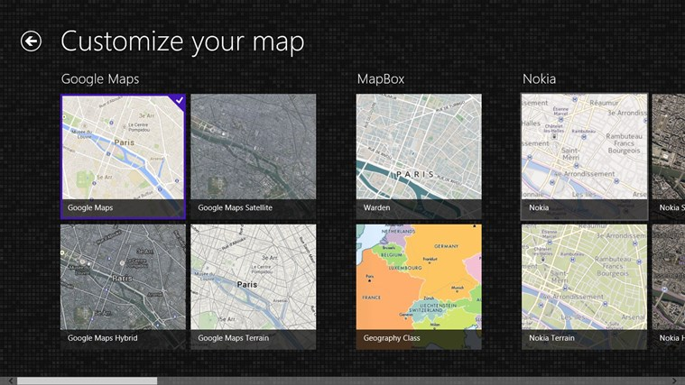 Maps Pro screen shot 2