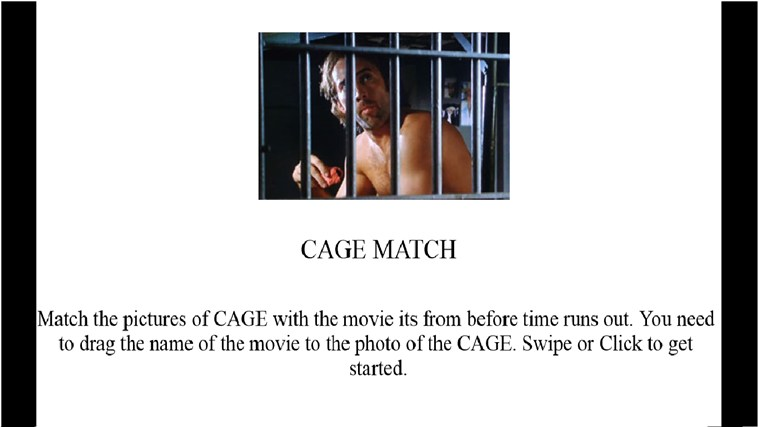 Cage Match screen shot 0