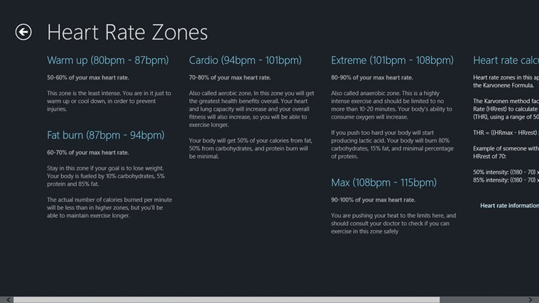 Azumio Health and Fitness Suite screen shot 2