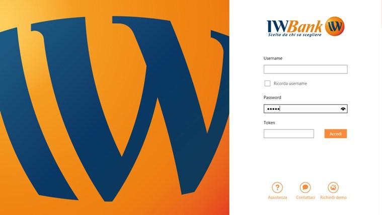IWBank cattura di schermata 0