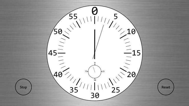 Clock screen shot 2