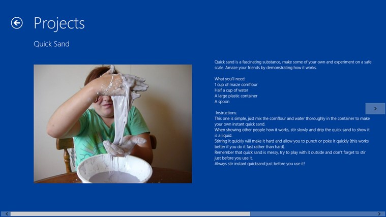 Simple Science Projects screen shot 2