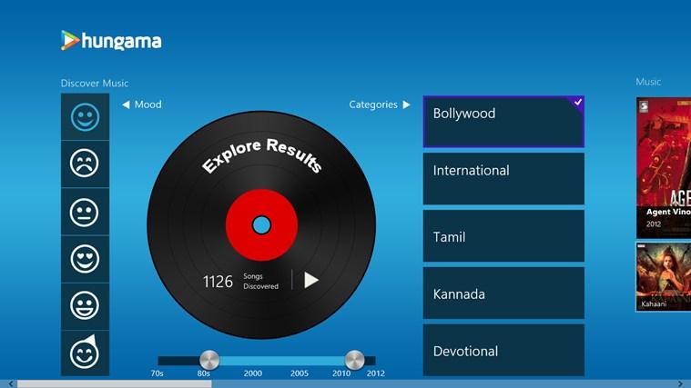 Hungama MyPlay full screenshot