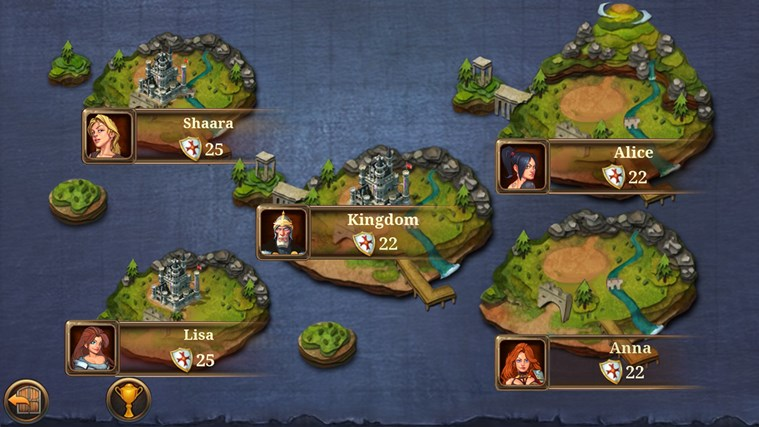 Kingdoms & Lords screen shot 2