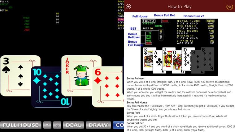 7 Cards Poker Bola Tangkas posnetek zaslona 2