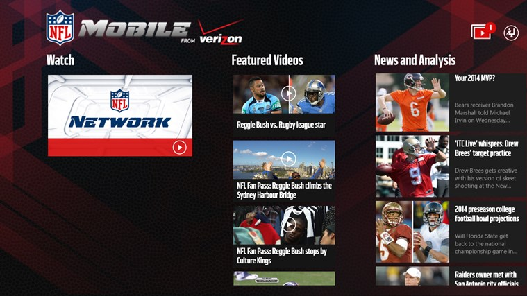 NFL Mobile screen shot 0