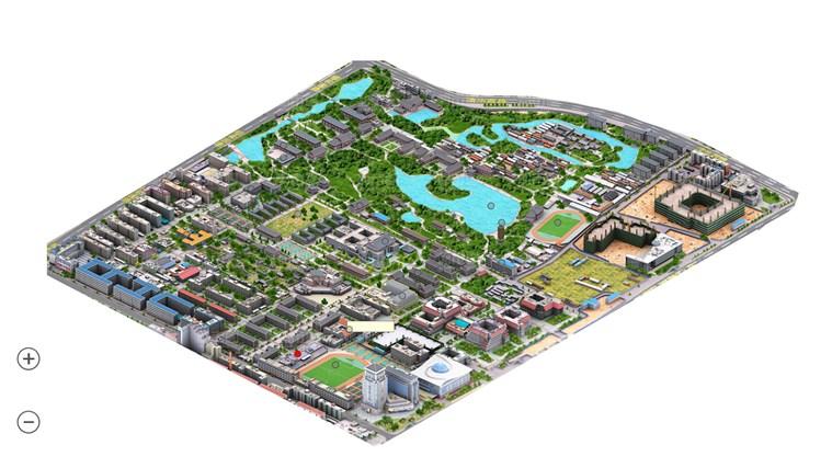 北京大学校园地图