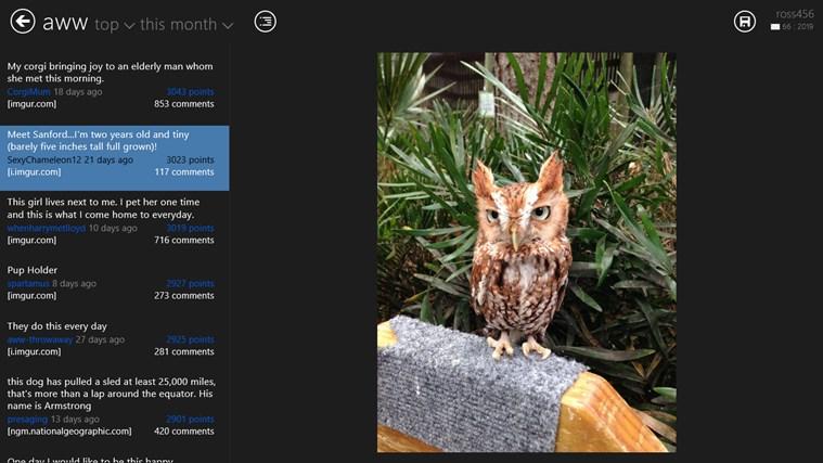 Reddit2Go! for reddit screen shot 0